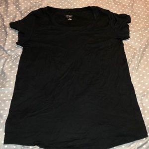 Black Maternity Short Sleeve tee
